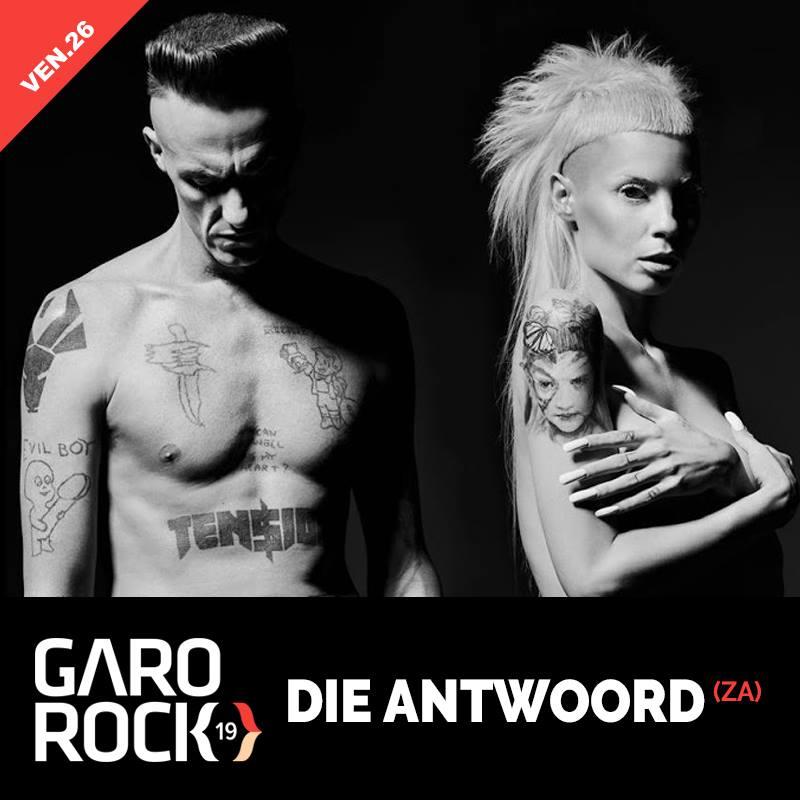 Die Antwoord @ Garorock Festival 2015